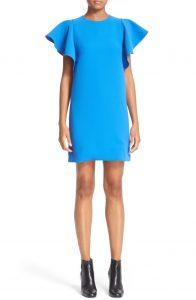 victoria-beckham-flounce-sleeve-dress