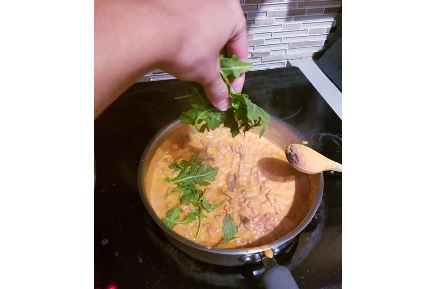 roquette-cuisine-pâtes-italiennes
